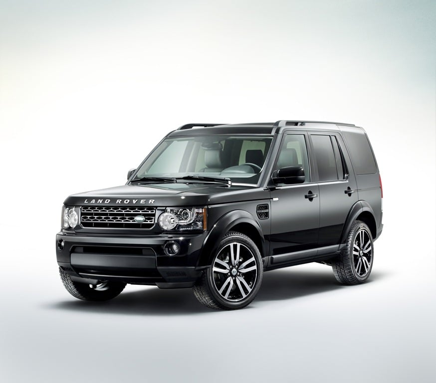 Black Design Pack For LandRover Discovery 4