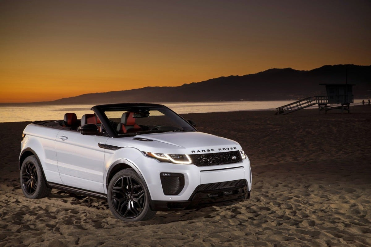 land evoque range news car rover new convertible landrover carsguide price sales